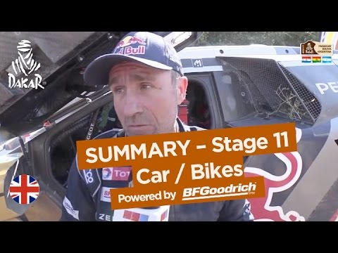 Stage 11 Summary - Car/Bike - (San Juan / Río Cuarto) - Dakar 2017
