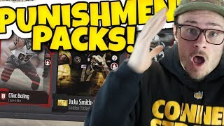 OH BOY MADDEN 18 PUNISHMENT PACKS DIDN'T GO AS PLANNED!! MUT 18