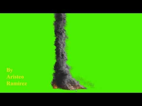 GREEN SCREEN METEOR CRASH thumbnail