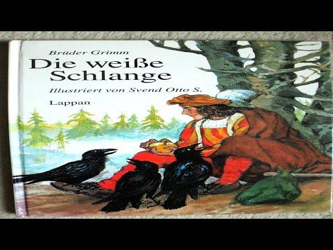 Deutsch lernen mit Geschichten A1-A2: Die weiße Schlange