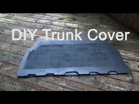 How-to Make A DIY Trunk Cover Tutorial