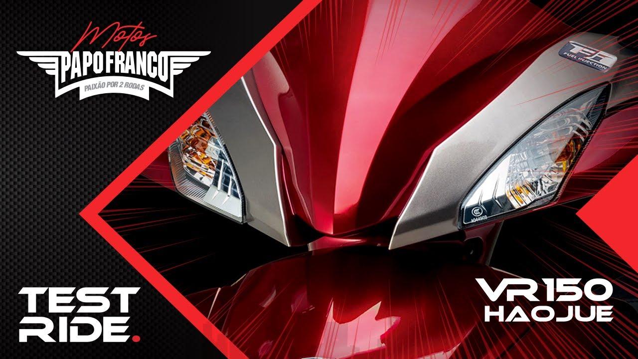 Download Test Ride Haojue VR150 - Concorrente da Elite e Neo. Será que vale a pena? Lançamento 2020