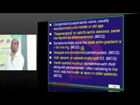 Medicine Cardiology Topic 08 AORTIC STENOSIS