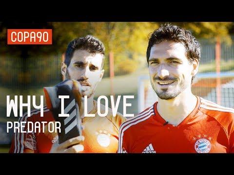 Why I Love Predator ft Mats Hummels, Javi Martínez, Keylor Navas & Nacho