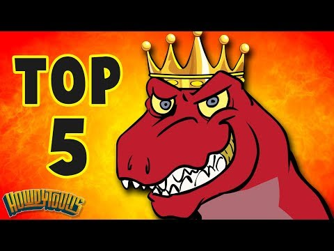 Top 5 Dinosaur Songs | Best Dinosaur Cartoons for Kids from Dinostory by Howdytoons