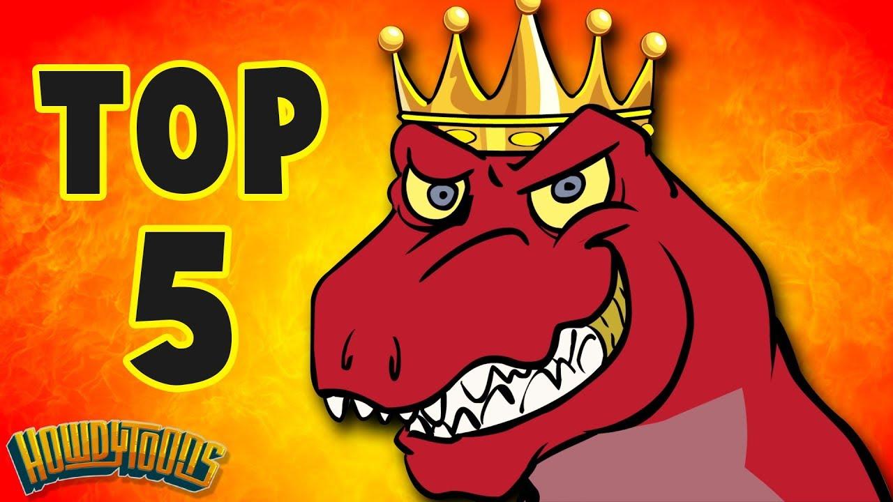 Top  Dinosaur Songs Best Dinosaur Cartoons For Kids From Dinostory By Howdytoons