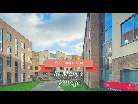 Bangor University Accommodation - St Mary's Village Tour