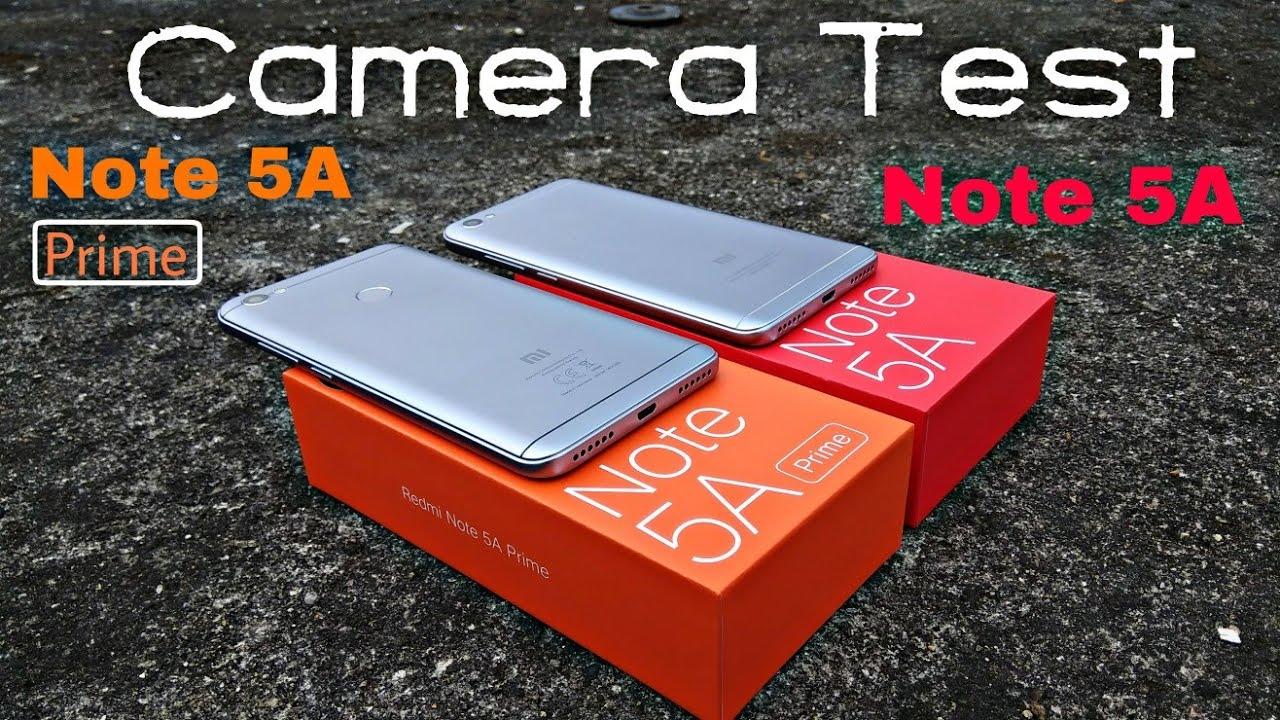 Camera Tes Redmi Note 5a Prime Vs Redmi Note 5a Youtube