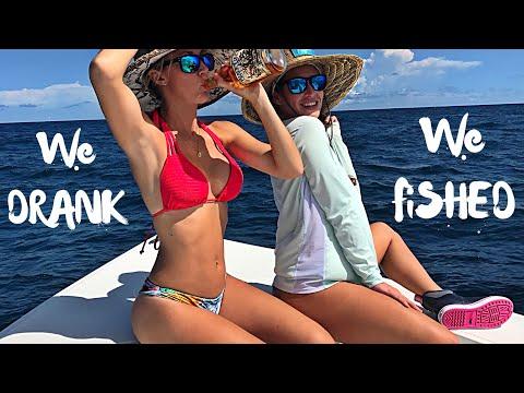 Fun, wild day of fishing off West Palm Beach Florida