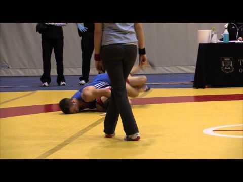 2013 Wesmen Duals: 54 kg Eric Robertson vs. Chris Waltner