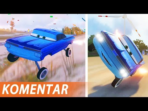 Radimo trikove sa živim autima - Cars 3: Driven to Win