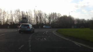 Red Hill Roundabout - Driving Lessons In Leicester