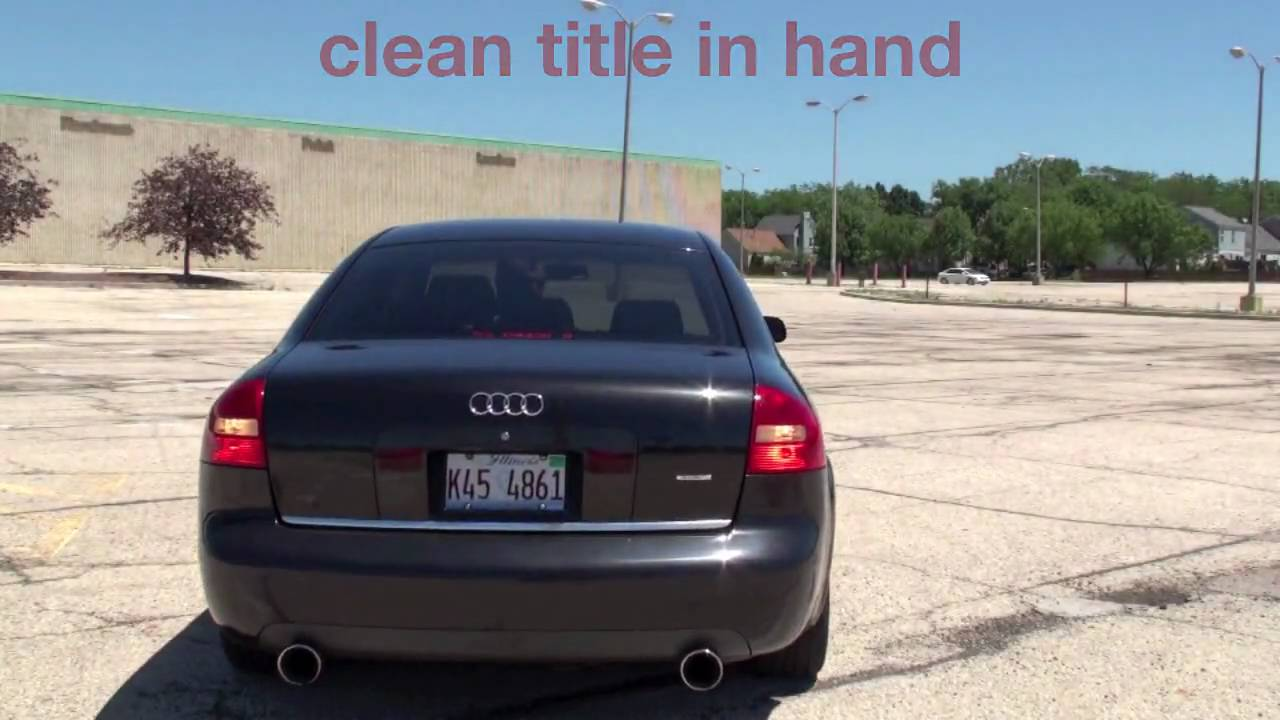 Audi A6 2 7 Biturbo For Sale Youtube