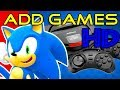 Sega Genesis Flashback (review) - How to add more games