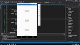 Creating a Simple Xamarin App