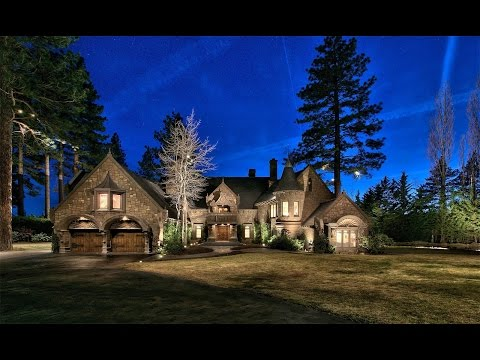 """""""The Castle on Lake Tahoe"""" in Incline Village, Nevada"""