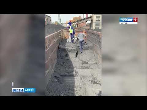 На ТЭЦ города-курорта Яровое привезли жидкий уголь