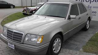 The W124 Mercedes-Benz cars like this 1995 E320 sedan are the last great German-engineered Benzes