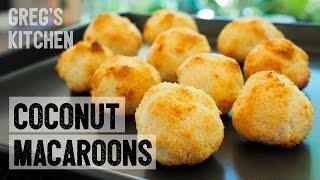EASY COCONUT MACAROON BALLS Recipe - Greg
