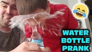 Kid Temper Tantrum After Daddy Does Water Bottle Coin Prank On Him [ Original ]