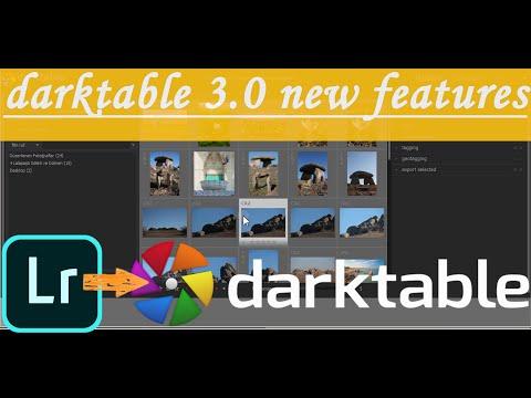 Darktable : Ücretsiz Ders - 5 - Darktable 3.0 Yeni Özellikler