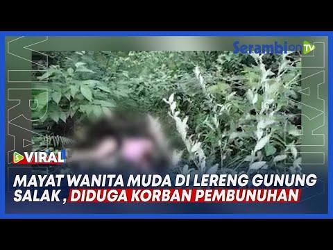 Heboh Penemuan Mayat Wanita Muda Di Lereng Gunung Salak Aceh Utara, Diduga Korban Pembunuhan