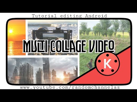 Cara editing Multi Collage video di kinemaster
