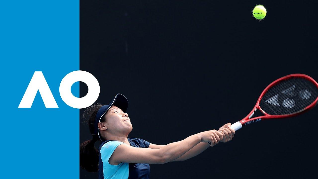Nao Hibino vs. Shuai Peng - Match Highlights (1R)   Australian Open 2020