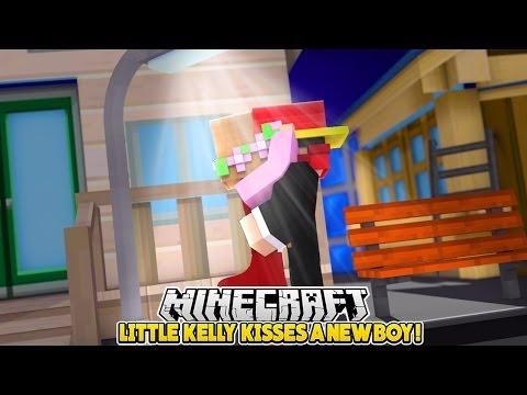LITTLE KELLY KISSES A NEW BOY!!! - Minecraft Little Club Adventures - Видео из Майнкрафт (Minecraft)