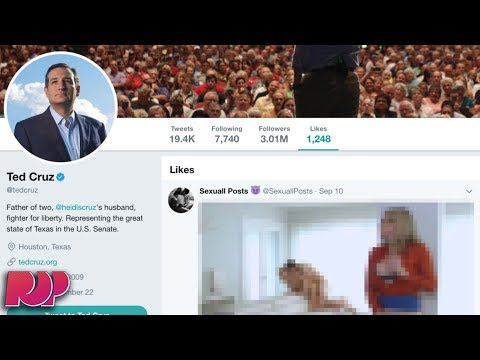 Ted Cruz Likes Porn Tweet On His Official Twitter