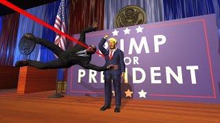 Ложитесь, мистер президент! (Трэш)