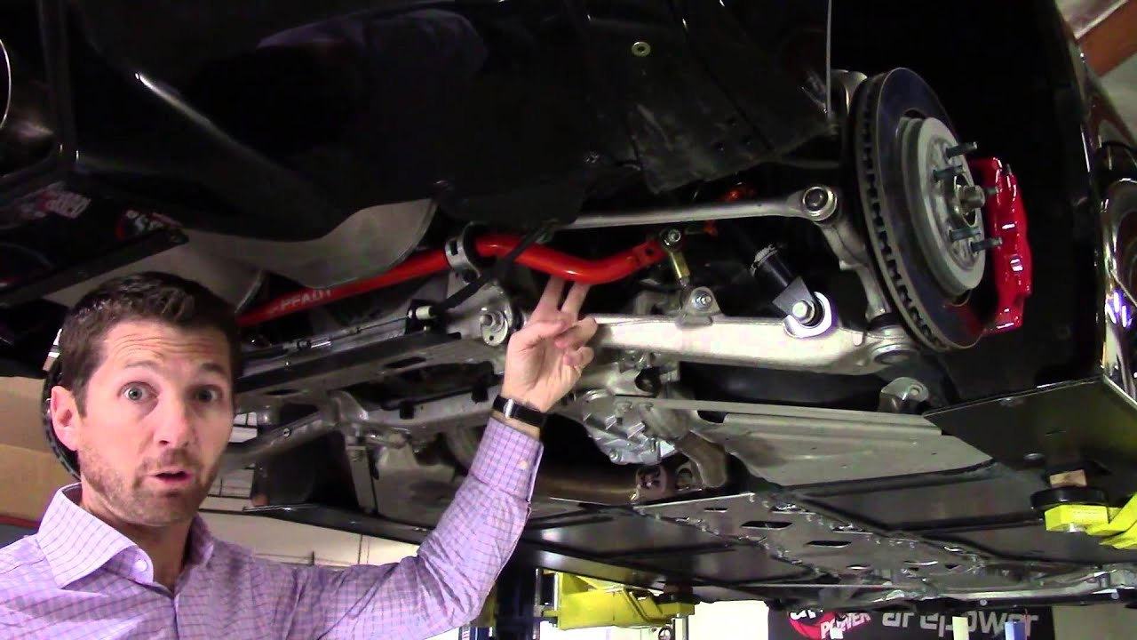 AFe CONTROL PFADT Series Sway Bars For 2014 2015 Corvette