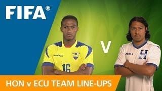 Honduras v. Ecuador - Teams Announcement