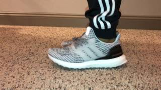 f1e5dfa3a Adidas Ultra Boost 3.0 OREO Unboxing + On Feet