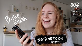 Download lagu Billie Eilish - No Time To Die - reaction