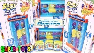 Университет Монстров Домики и эксклюзивные Фигурки/Slimy exclusive Figurines Kinder Surprise