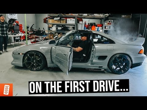 V6 MR2 Giveaway Car Immediately Blows Up on New Owner.