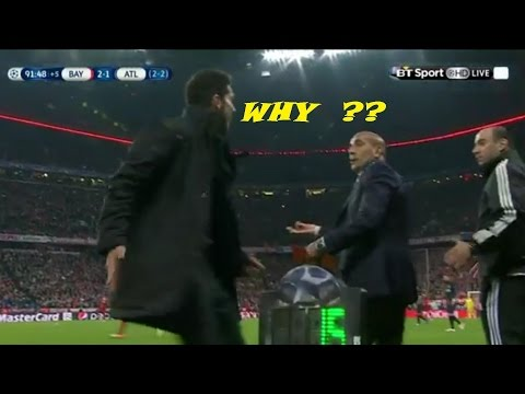 Diego Simeone - ANGRY MOMENTS