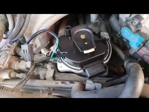 97 Nissan Pathfinder Distributor R50 3 3l Removal And Install Of In 3min