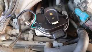 97 Nissan pathfinder distributor r50 3.3L removal and install of distributor in 3min