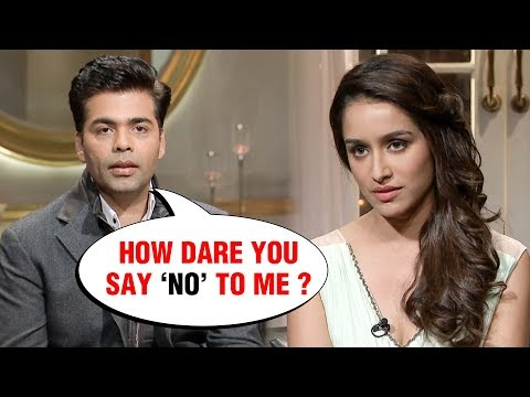 Karan Johar Is ANGRY And The Reason Is Shraddha Kapoor