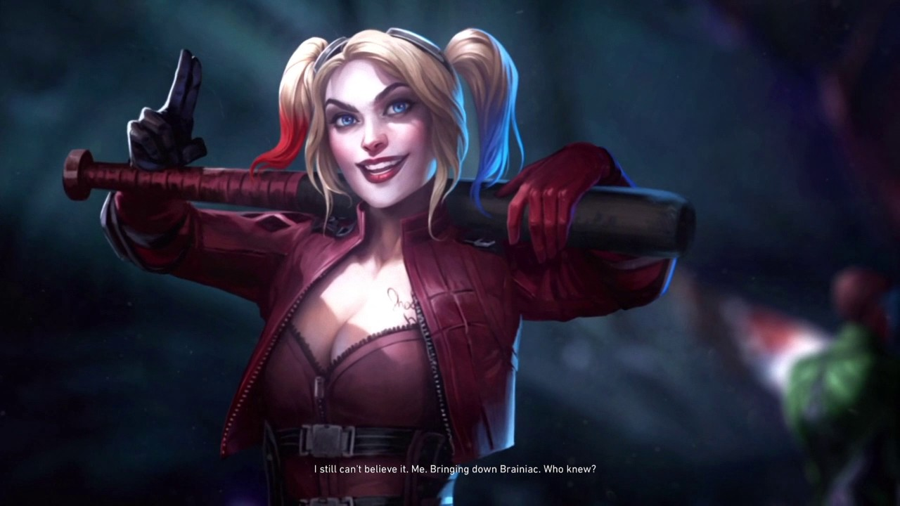 INJUSTICE 2 - All Harley Quinn Scenes (Story Mode) - YouTube