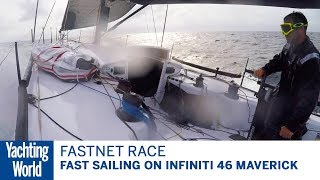 Fast sailing on the 2017 Rolex Fastnet Race | Yachting World