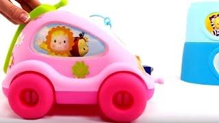 Развивающие мультики для маленьких: МАЛЫШИ! Развивающие игры - Кубики, фигуры, животные для детей