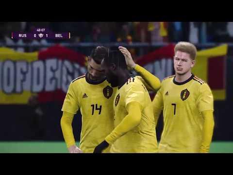 Россия - Бельгия / 16.11.2019 / Евро2020 отборочный матч