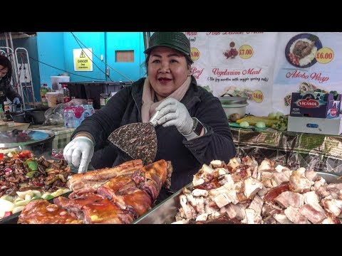 Lechón Pork from the Philippines. London Street Food