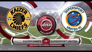 Absa Premiership 2019/20 | Kaizer Chiefs vs SuperSport Utd | Highlights