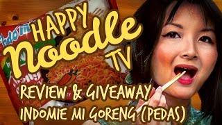 Happy Noodle TV Eats Indomie Mi Goreng Pedas feat. Sesame Fried Egg!