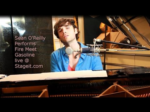 Sia - Fire Meet Gasoline - Acoustic Piano Cover By Sean O'Reilly