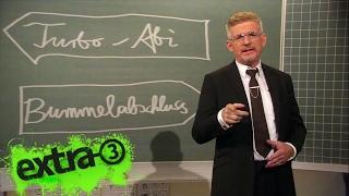 Bildungsexperte Heinz Strunk zum Turbo-Abi